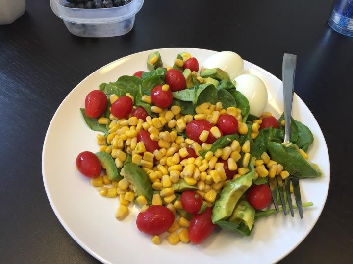 One Salad- 4 DifferentTastes